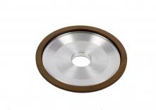 Diamond grinding wheels on organic basis for circular saws