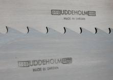 Platūs juostiniai pjūklai UDDEHOLM (plotis 80-206 mm)